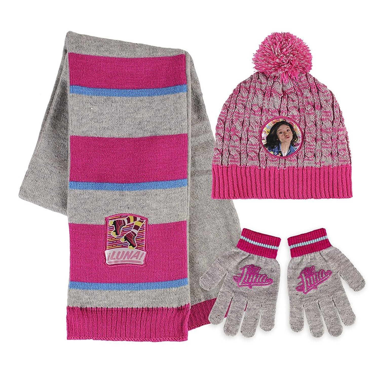 Set de bufanda, gorro y guantes para niña | Amazon.es