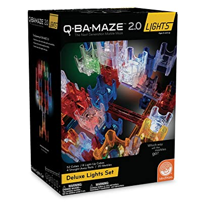 MindWare Q-BA-Maze 2.0 Lights: (Deluxe Set): Toys & Games