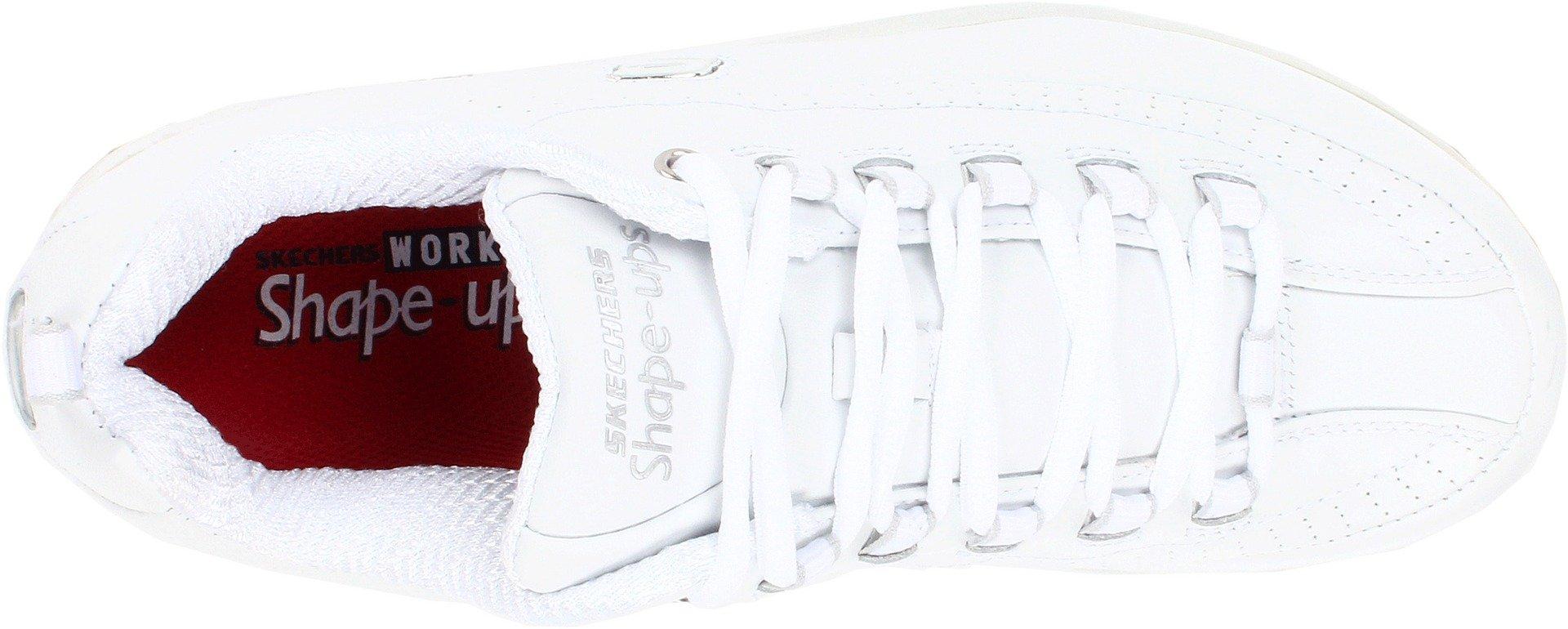 Skechers for Work Women's Shape Ups Slip Resistant Sneaker,White,10 M US by Skechers (Image #7)