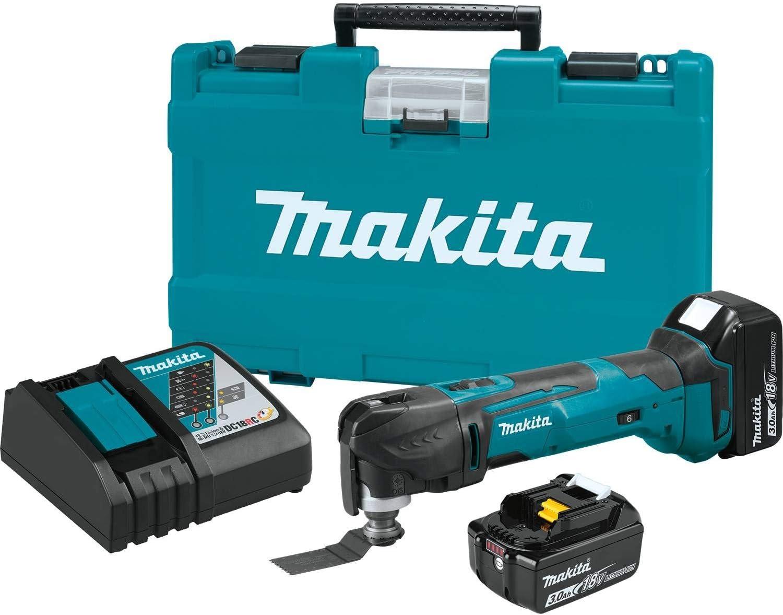 Makita DTM51Z 18V Li-Ion Cordless Oscillating MultiTool With 1 x 5.0Ah Battery
