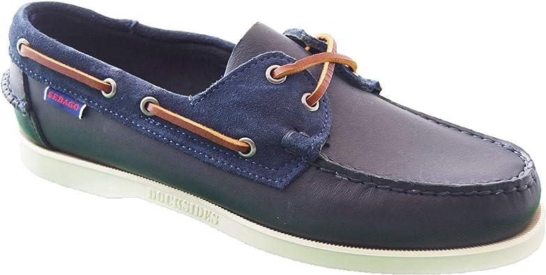 Sebago Portland Winch Chaussures Bleu Marine 908 Navy