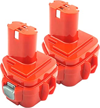 2x 3.5AH 12V Ni-MH Akku Batterie für Makita PA12 1220 1222 1233 1234 1235F 6270D
