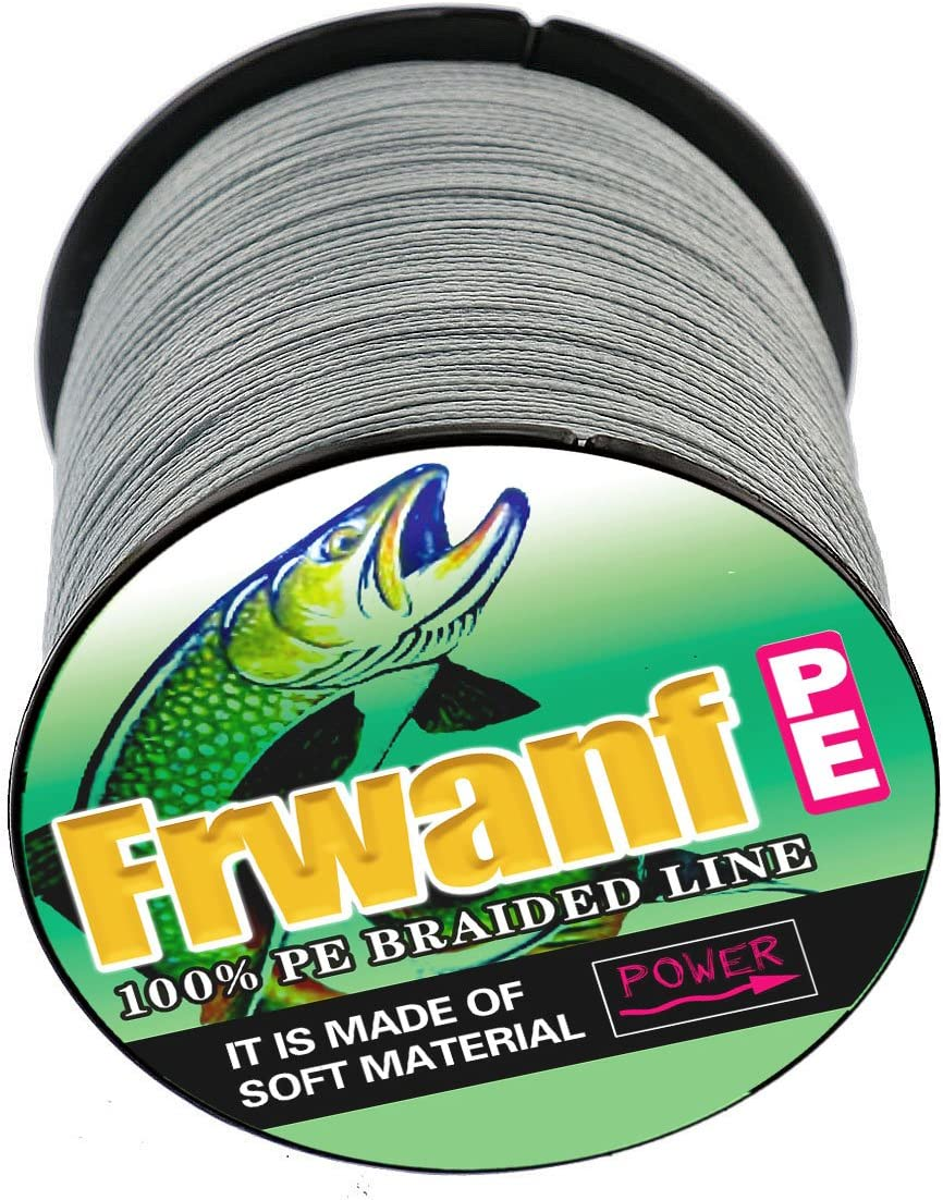 Frwanf Super Strong Braid Line 1000M//1093Yards Multifilament Fishing Line 6LB-300LB PE Wire Line for Fishing 4X 8X Strands Sink String