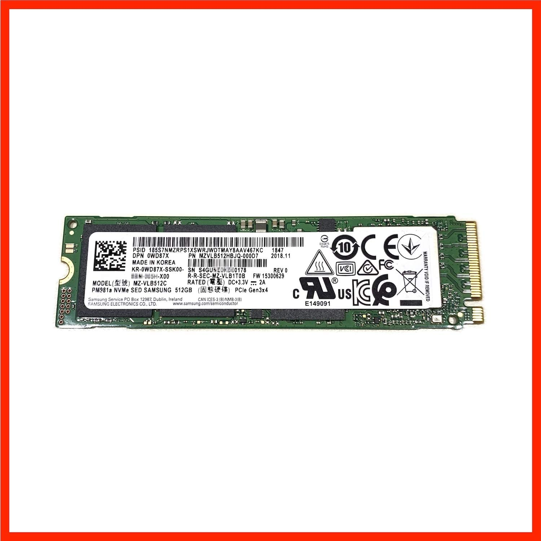 MZVLB512HBJQ-000D7 Samsung 512GB PM981a SED Encryption M2 M.2 2280 ...