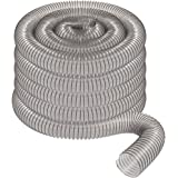 "4"" x 50' CLEAR PVC DUST COLLECTION HOSE BY PEACHTREE WOODWORKING PW377"