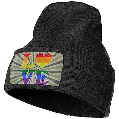 Unisex Heart I Love Baseball Outdoor Fashion Knit Beanies Hat Soft Winter Skull Caps