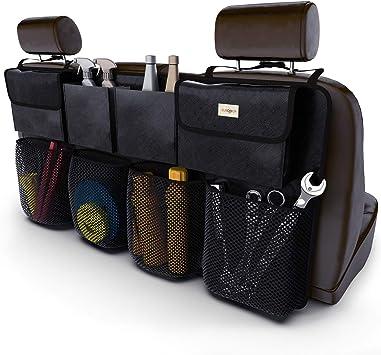 High Quality Black Car Boot Storage Bag Organizer with Hook /& Loop Self-Adhesive