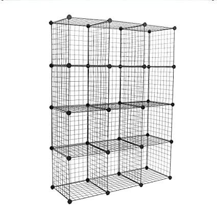 Peachy Amazon Com Icoco Upgrade Storage Cubes Stackable Download Free Architecture Designs Embacsunscenecom