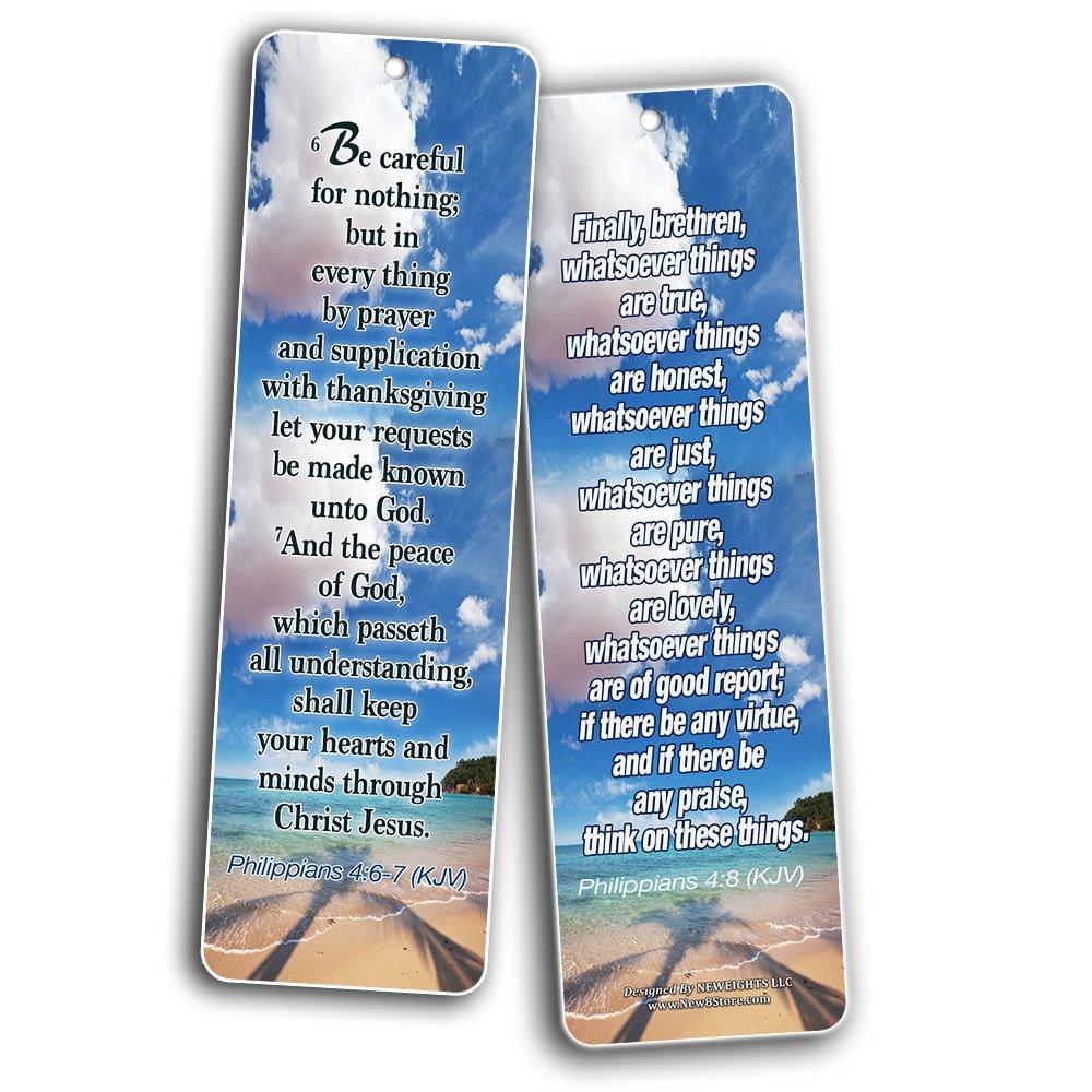 Most Highlighted Bible Verses Bookmarks Cards Bulk Set - KJV Version  (60-Pack)- Religious Christian Inspirational Gifts to Encourage Men Women  Boys