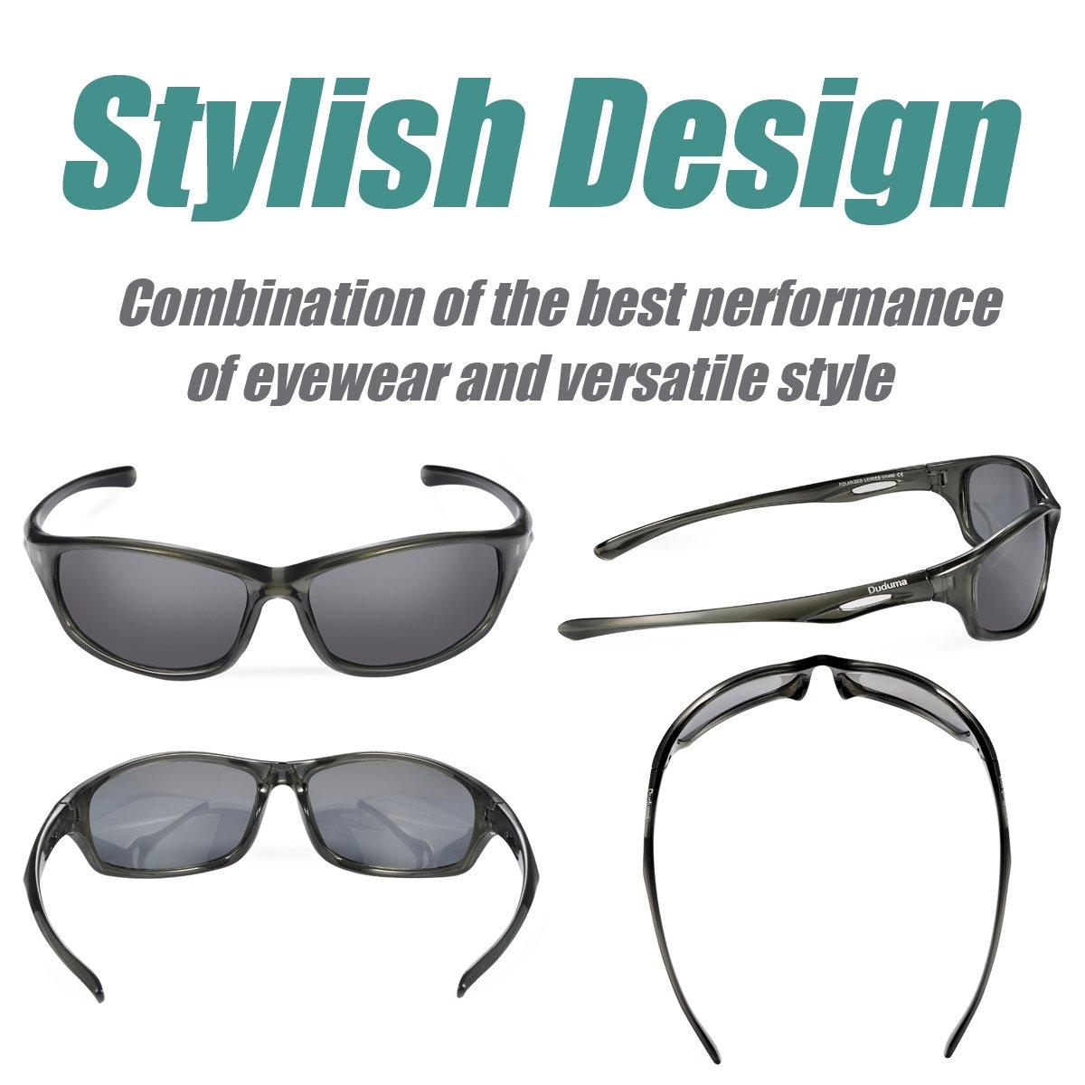 3eebbb45069 Amazon.com   Duduma Polarized Sport Mens Sunglasses for Baseball Fishing  Golf Running Cycling with Fashion Women Sunglasses and Men Sunglasses Tr650  ...