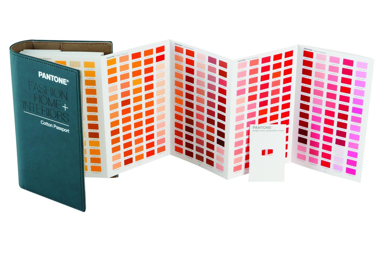 Multicolor Pantone FHIC200 Fashion /& Home Cotton Passport
