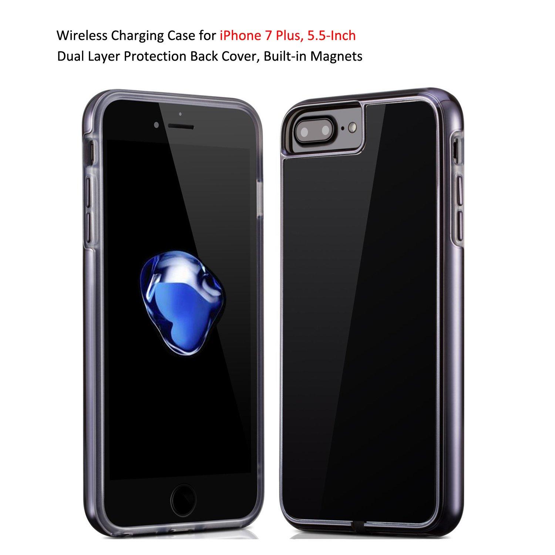Amazon.com: Antye - Cargador 2 en 1 inalámbrico para iPhone ...