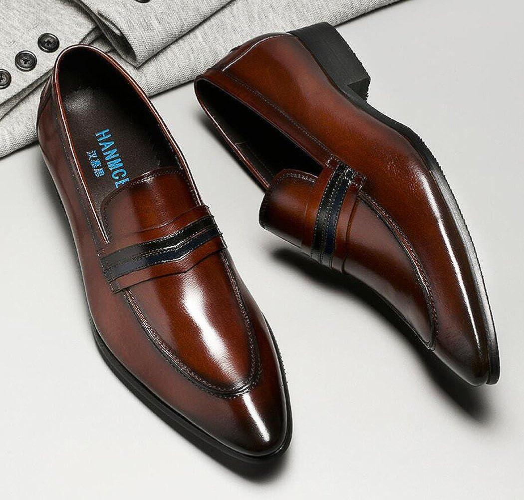 Mocasines para Hombre Brogues Zapatos Clásicos de Estilo Formal ...