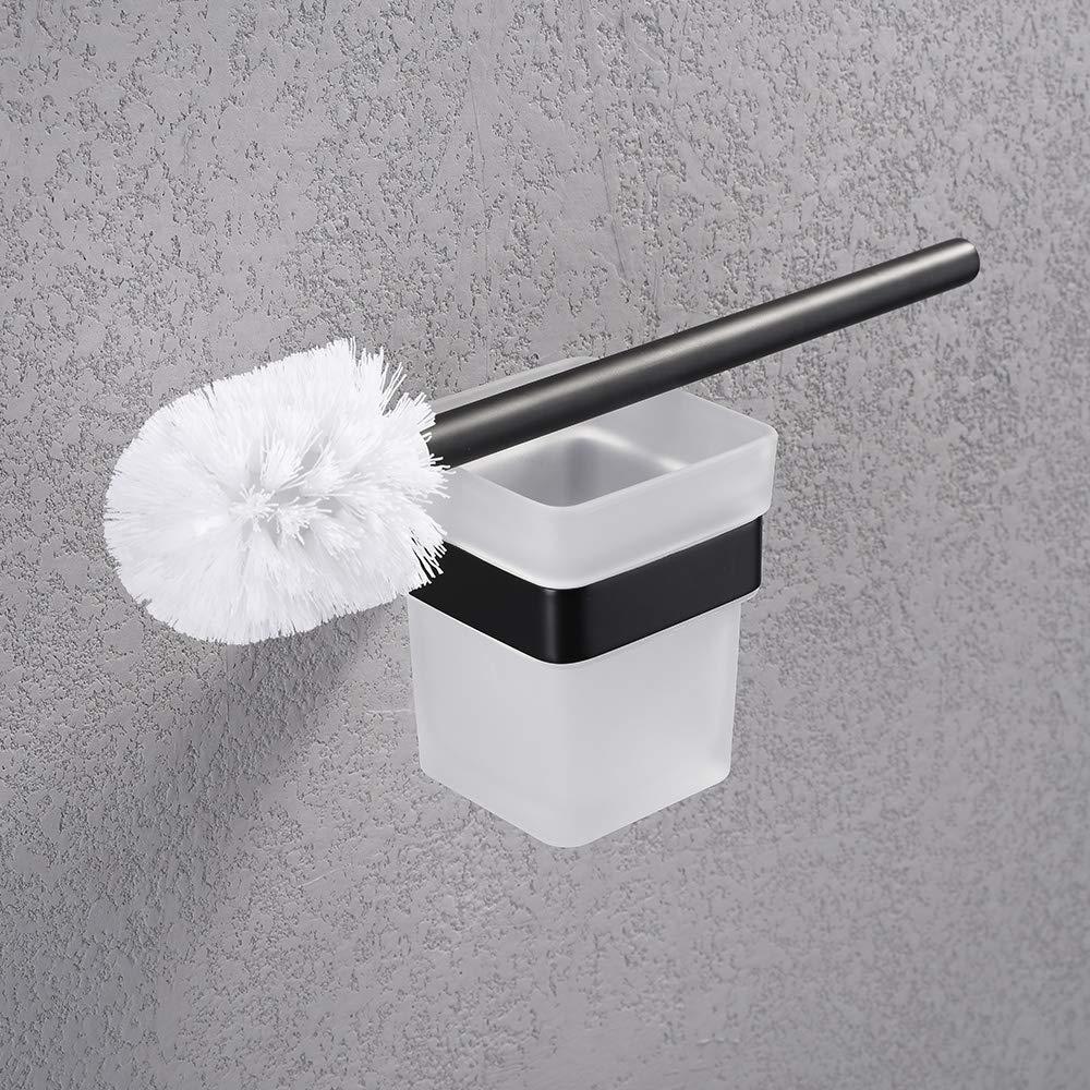 plateado N1SERIES-P para colgar rollos de pa/ñuelos Soporte de papel higi/énico para toallas de ba/ño de acero inoxidable con gancho resistente al /óxido estilo moderno acabado cepillado Turs