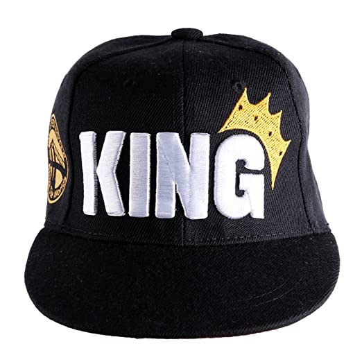 3749a139433 D-Sun Child Boys Girls Kids Hip-hop Trucker Hat Crown King Logo Baseball