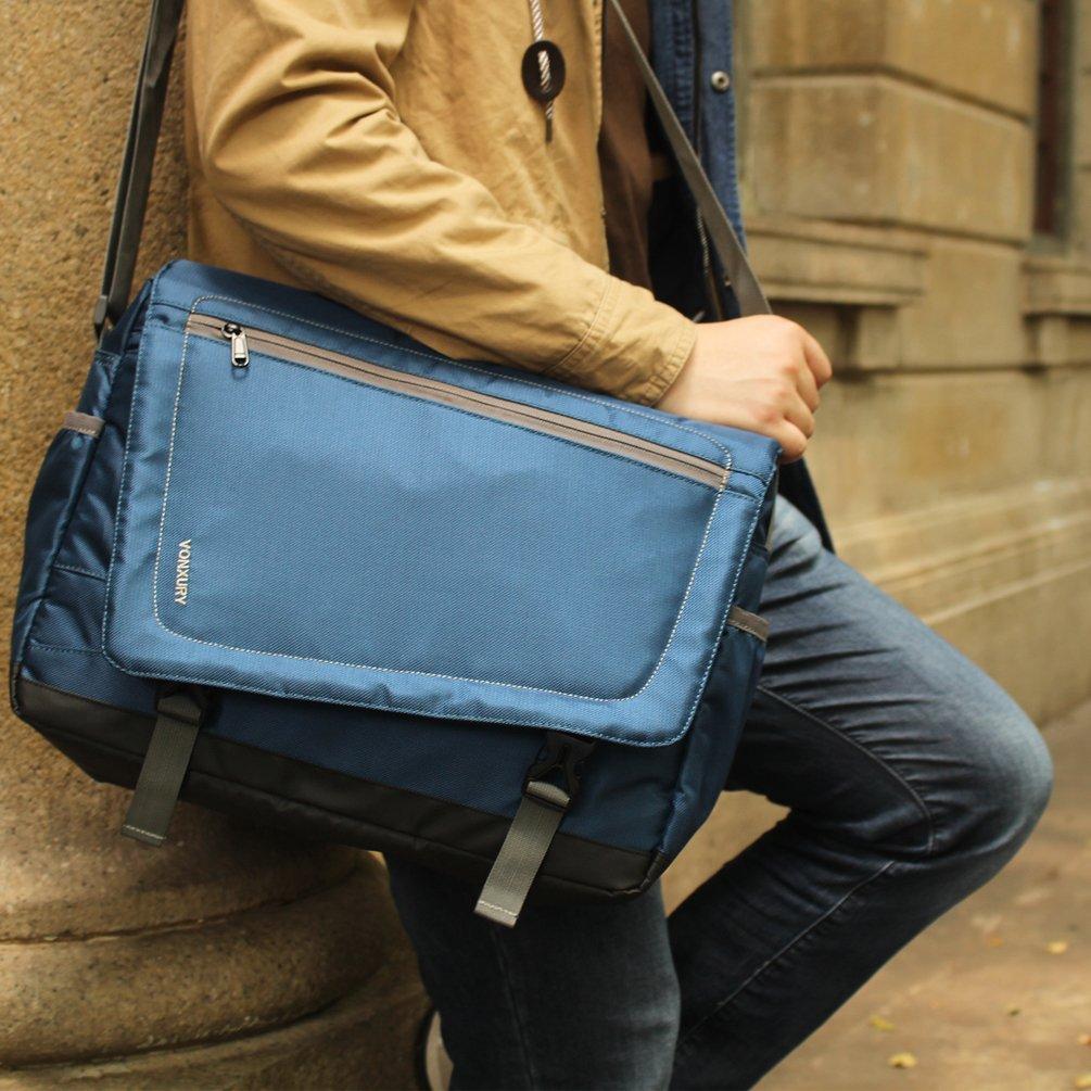 f12624d2839c Canvas Messenger Bag Retro 15 inch Laptop Shoulder Bag for men by VX ...