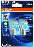 OSRAM DIADEM PY21W Halogène Lampe d´signal turn signal light 7507LDA-02B 12V Blister Double Set de 2
