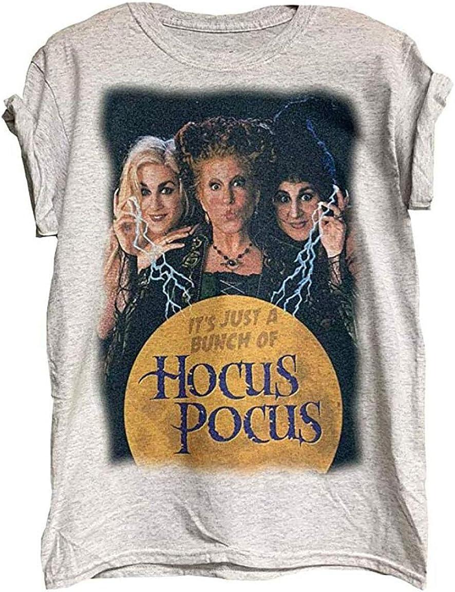 CHILDREN T SHIRTS Women T-Shirt Unisex T Shirt Hocus Pocus Shirt Super Soft Shirt Funny Halloween Tee