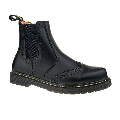 London Footwear - Botines Chelsea hombre: Amazon.es: Zapatos y complementos
