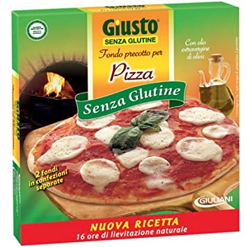 Amazon.com: Simplemente Fund para pizza sin Gluten 280 g ...