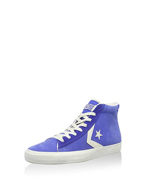 Converse Zapatillas Hi Leather Vulc Mid Azul EU 40.5 aHclsyJP7