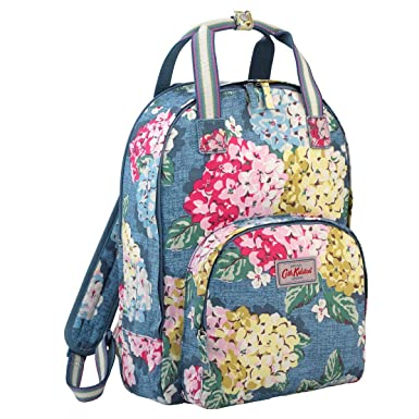 f7696f598358e Amazon.com: Cath Kidston Matt Oilcloth Multi Pocket Backpack Fit 13 ...