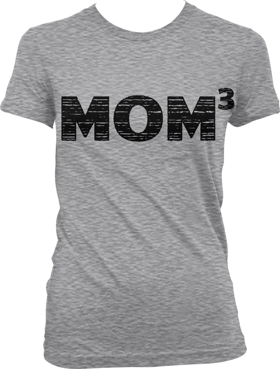 Mom3, Three , Mother's Day T-shirt