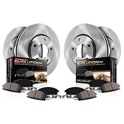 Autospecialty (KOE4077) Daily Driver OE Brake Kit, Front and Rear: Automotive