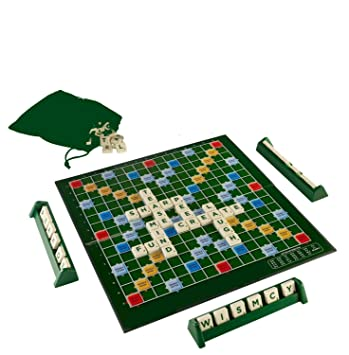 TanMan Toys Deluxe Crossword Word Making Game / Scrabble Game