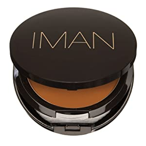 Iman Cosmetics Luxury Pressed Powder -- Clay Medium Dark