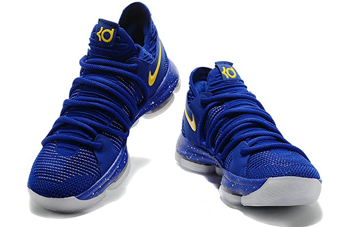 buy online 4839d 2709c denmark kd 10 warriors golden state royal blue gold scarpe da basket uomo  amazon.it