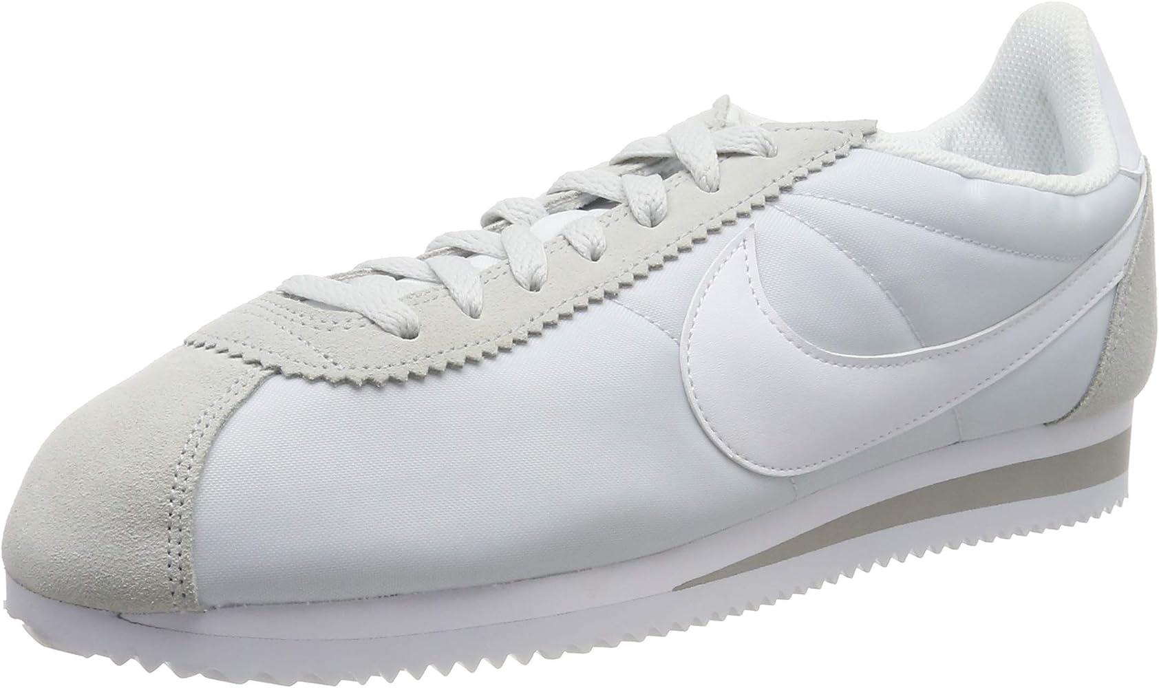 WMNS Classic Cortez Nylon, Sneakers Basses Femme