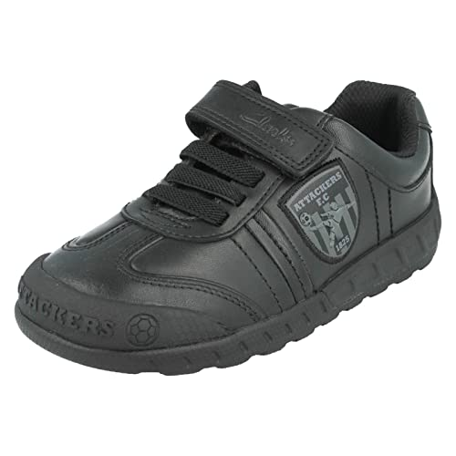 6049109fc9 Clarks LeaderPlay Boys Infant School Shoes: Amazon.co.uk: Shoes & Bags