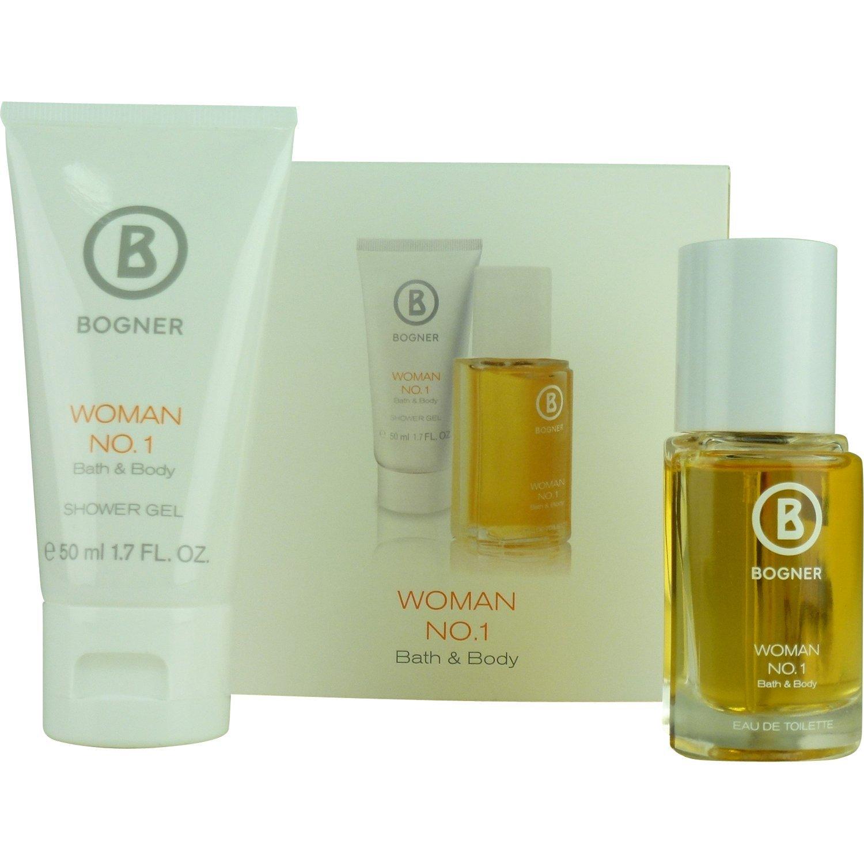 sehr bequem vielfältig Stile weltweit bekannt Bogner No.1 femme/woman Geschenkset (Eau de Toilette, 30 ml + Shower Gel,  50 ml), 1er Pack (1 x 1 Stück)