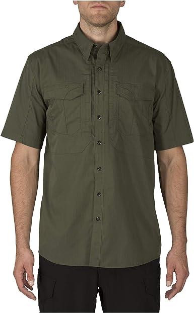 5.11 Stryke TDU Military Uniform Duty Shirt Long Sleeve Mens Ripstop Top Storm