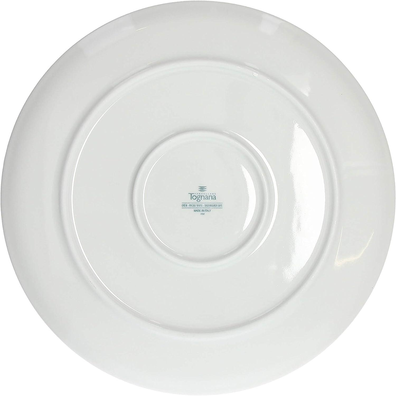 Big Living Italia Pizza Plates Set Of 4 Porcelain