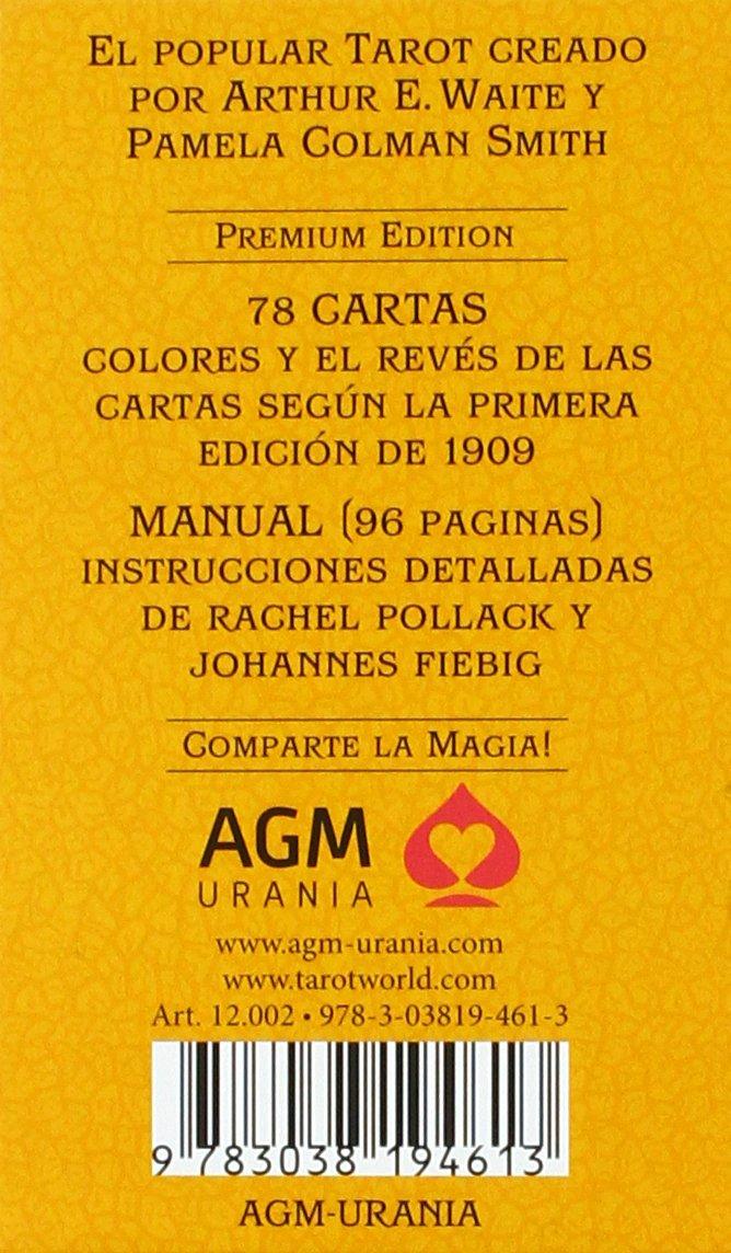 Tarot de A.E. Waite Standard Premium Edition Spanish: Amazon ...