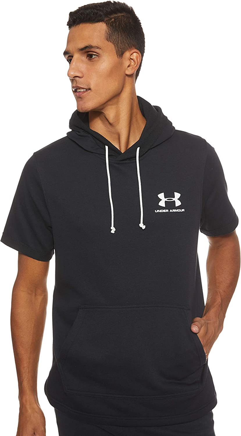 Under Armour Mens Sport Style Ss Hoodie Warm-up Top