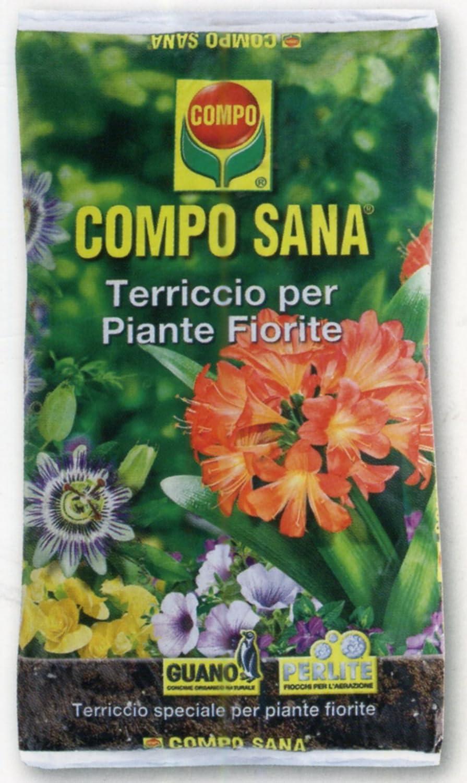 Compo - Sustrato de calidad Campo Sana, para plantas con flores ...