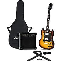 "Benson SG Vintage Sunburst electric package + MPA 20 WATT""Bluetooth"" guitar amplifier"