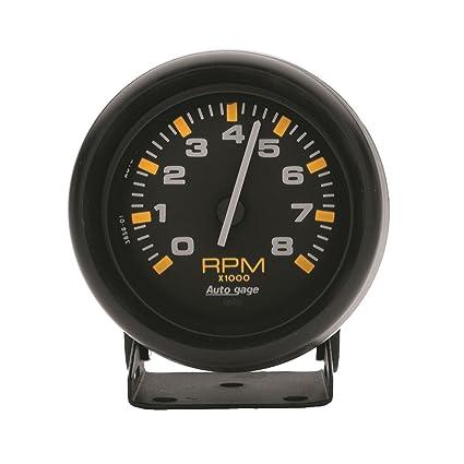 amazon com auto meter 2305 autogage mini tachometer automotive