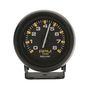 Amazon.com: Auto Meter 2305 autogage Mini tacómetro: Automotive