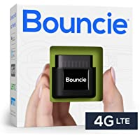 Bouncie - 4G LTE, GPS Car Tracker, Vehicle Location, Accident Notification, Route History, Speed Monitoring, GeoFence…