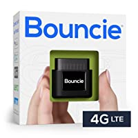 Bouncie - 4G LTE, GPS Car Tracker, Vehicle Location, Accident Notification, Route History, Speed Monitoring, GeoFence, GPS Car Tracker, No Activation Fees, Cancel Anytime, Family or Fleets
