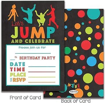 Amazon.com: Invitaciones para fiestas de cumpleaños para ...