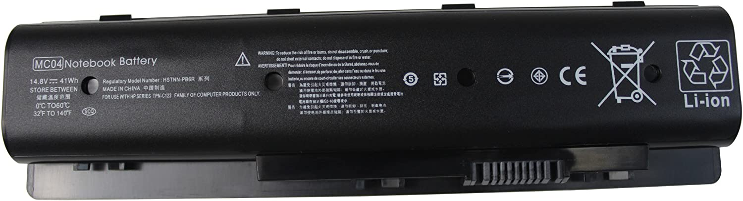 Gomarty 14.8V 41WH New MC04 Laptop Battery Compatible with HP Envy 15-AE100 17-N000 M7-N101DX 17T-N000 m7-n109dx m7-n011dx 17-r Series HSTNN-PB6R 805095-001 MC06 TPN-C123