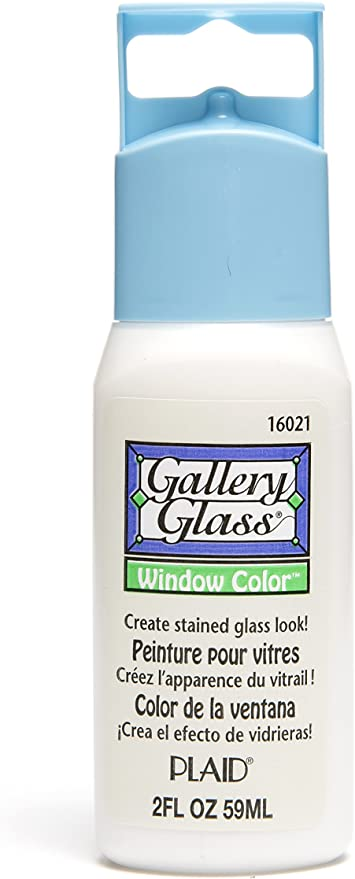 Gold Sparkle Plaid GALLERY GLASS 59ML Stained Glass Effect Paint