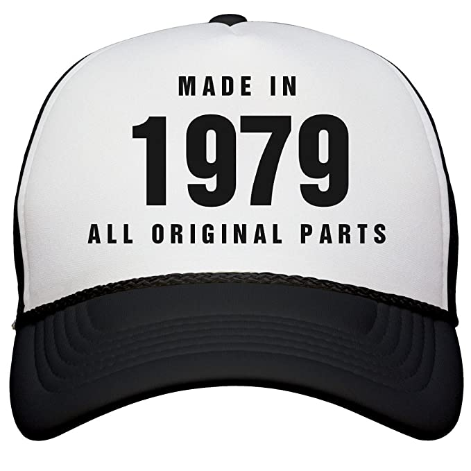 a9c1af47 Amazon.com: Made in 1979 Birthday Snapback: Snapback Trucker Hat: Clothing