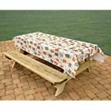 Bowery Camping Trails Tablecloth (1)