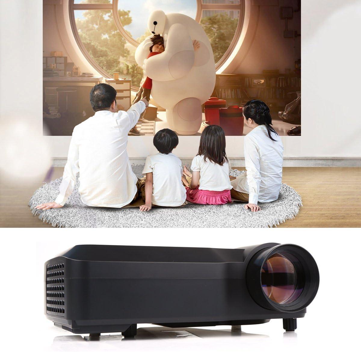 Proyector, Crenova xpe650 Vídeo Home proyector presentación ...